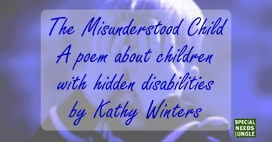 The Misunderstood Child – by Kathy Winters