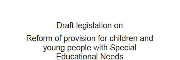 Draft SEN legislation published and a response to my open letter to Sarah Teather