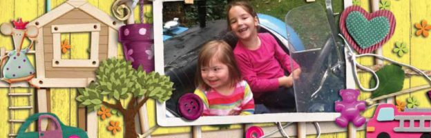 Mia takes after Mum helping siblings of kids with Down's syndrome