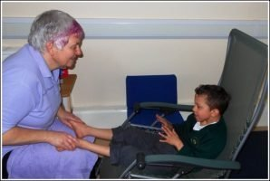 The power of reflexology on children with special needs