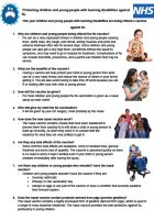 Flu vaccination available for children & young people with learning disabilities in England