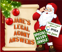 Jane from IPSEA answers more of your SEND legal questions.