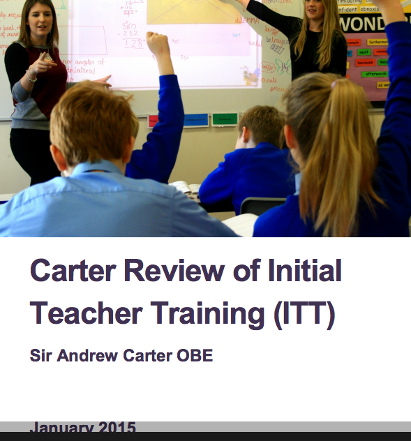 Carter Review makes recommendations to improve SEND teacher training