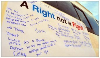 A Right Not a Fight: why young people with learning difficulties are demonstrating for education equality