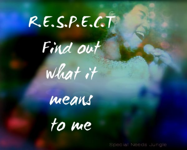 IMAGE WITH WORD RESPECT ON IT