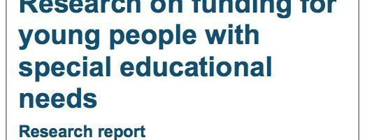 Unfair, flawed and not joined up: Why fixing SEN funding matters. #CountMeIn