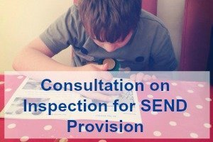 Consultation on Inspection for SEND