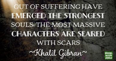 #WiseWords: Strong souls come from suffering
