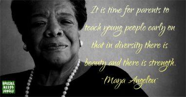 Some Sunday wisdom from Maya Angelou