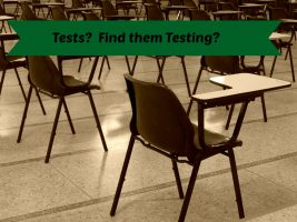 Tests:  Do you and your child find them testing?