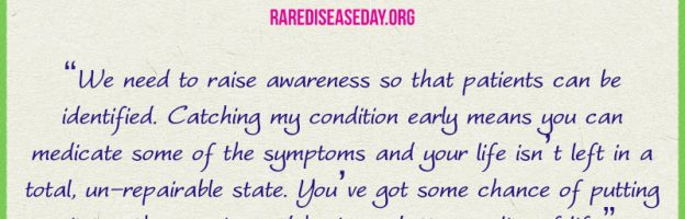 Rare Disease Day: Hear our voice to help meet our needs