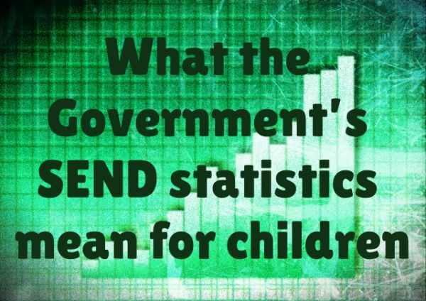 What the Governments SEND statistics mean for children