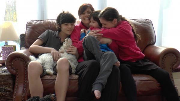 Renata Blower and family