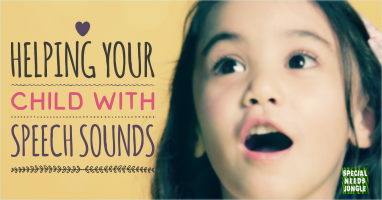 Helping your child with Speech Sounds