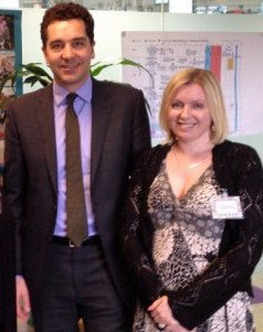 Tania Tirraoro and Edward Timpson