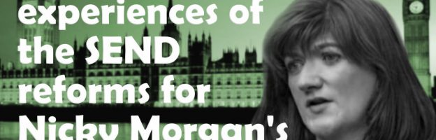 Share your experiences of the reforms for Nicky Morgan's SEND review