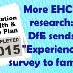 Image shows mock-up of an EHCP plan cover