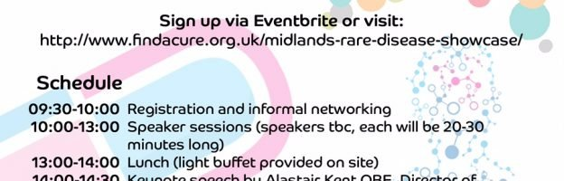 Showcasing Rare Diseases in Birmingham