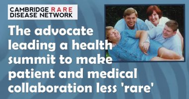 The advocate leading a summit to make patient and medical collaboration less 'rare'