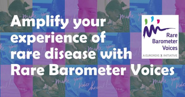 Amplify your experience of rare disease with Rare Barometer Voices