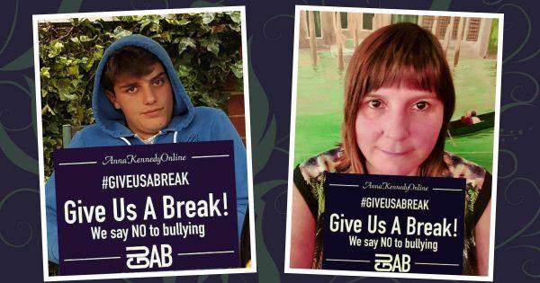 #giveusabreak