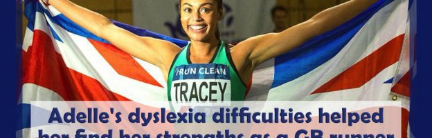 Adelle's dyslexia helped her find her strengths as a GB athlete