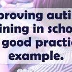Improving autism training in schools- A good practice example