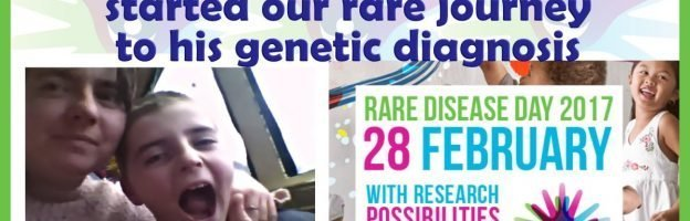 Finding my son near death started our rare journey to his genetic diagnosis