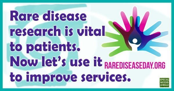 Rare disease research is vital to patients. Now lets use it to improve services.