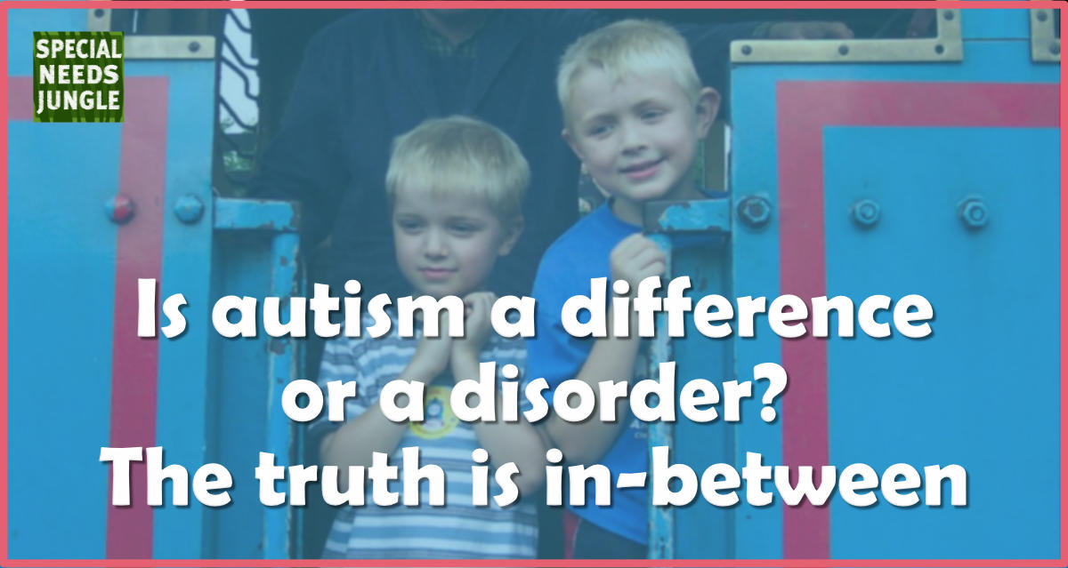 autism difference disorder? in-between