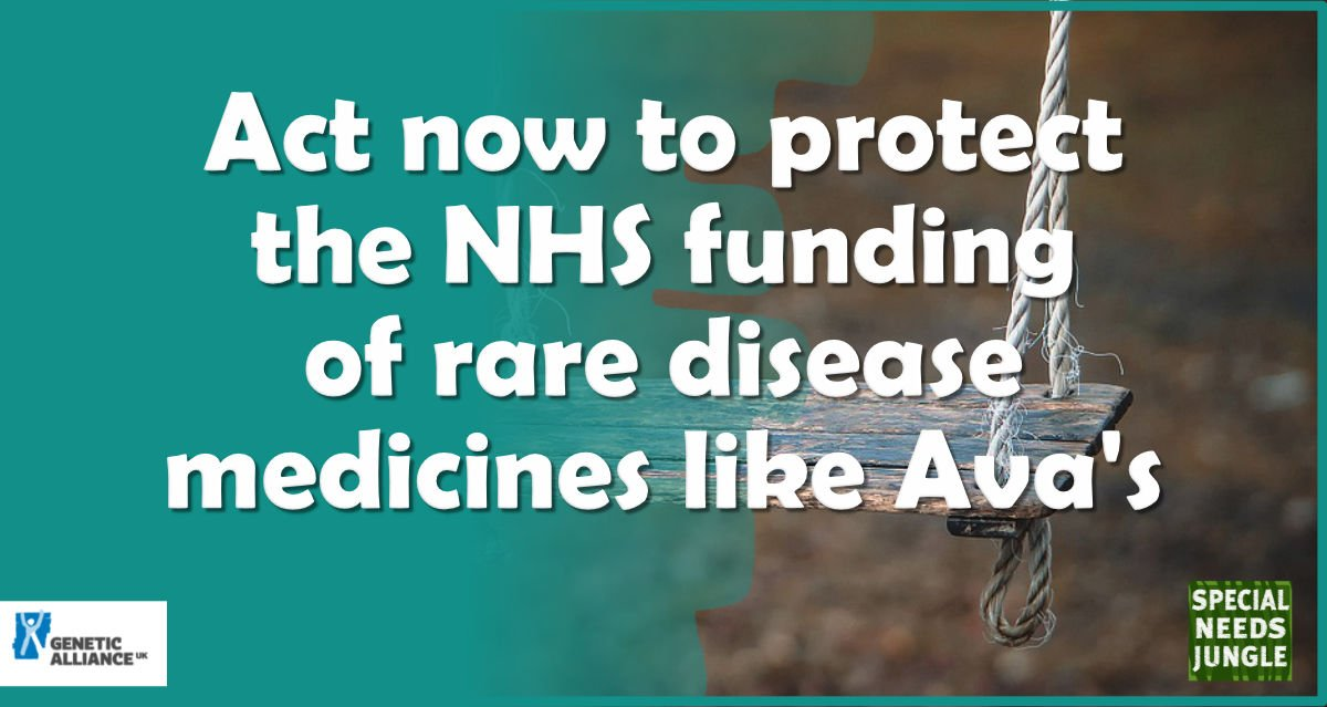 Act now to protect the funding of rare disease medicines like Ava's