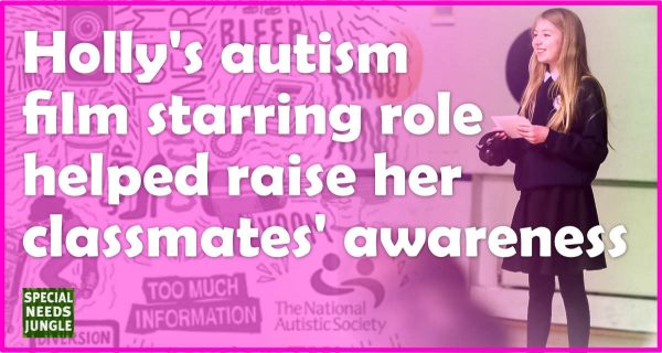 Holly's fil role raises autism awareness