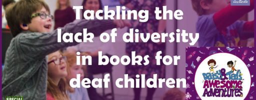 Tackling the lack of diversity in books for deaf children