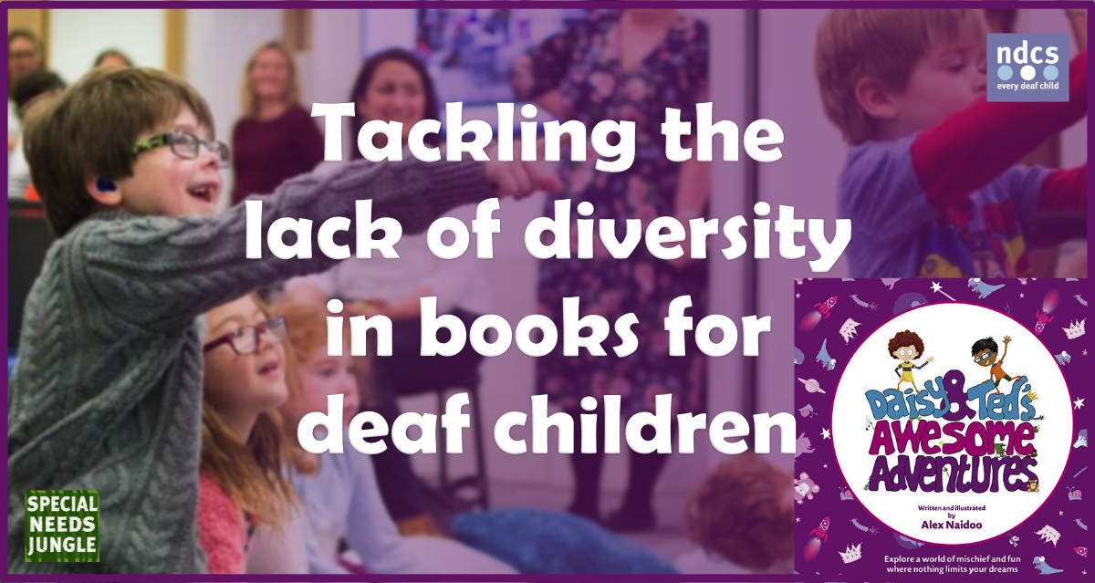 Tackling lack diversity books deaf children