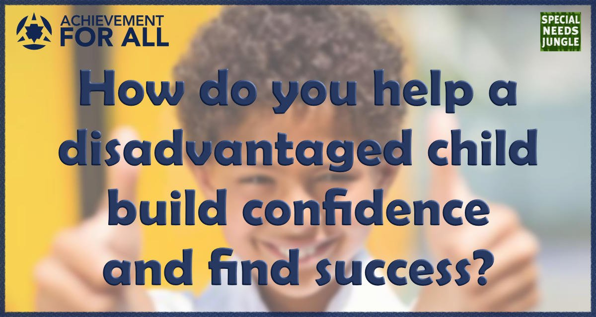 how do you help disadvantaged child?