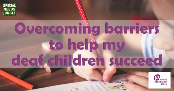 overcoming barriers deaf children