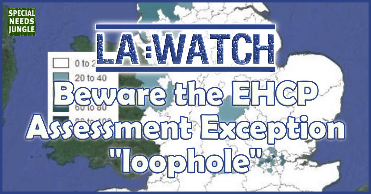 LA Watch- EHCP Loophole