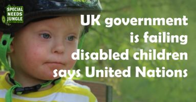UK government is failing disabled children says United Nations
