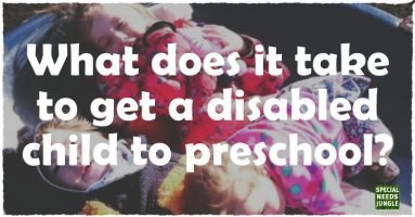 What does it take to get a disabled child to preschool?