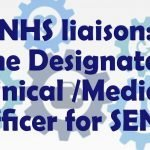 NHS liaison- The Designated Medical Officer for SEND