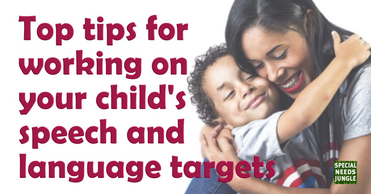 Dont Let Special Needs Students Fall >> Top Tips For Working On Your Child S Speech And Language Targets