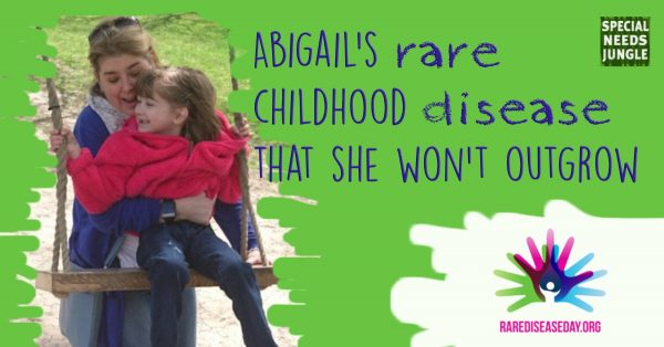 Abigail's rare childhood disease that she won't outgrow