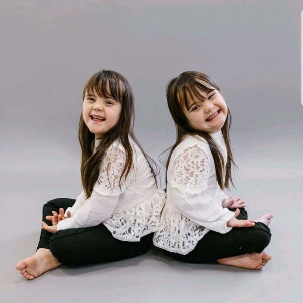 Twincess Abigail and Isobel