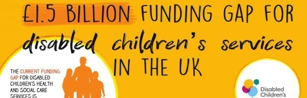 £1.5 billion funding gap for disabled children's services in the UK