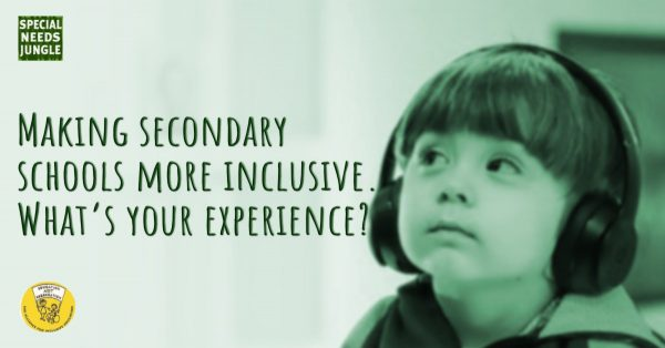 Making secondary schools more inclusive Whats your experience