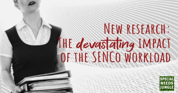 SENCo laden with work with words: New research devastating impact SENCo workload