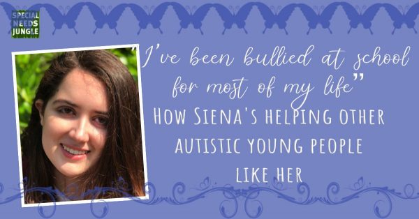 bullied school most of life How Siena helping other autistic young people