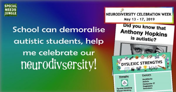 School demoralise autistic students help celebrate neurodivsersity1