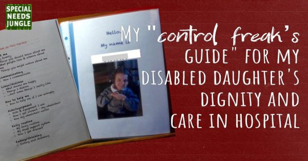 control freaks guide disabled daughters dignity care hospital