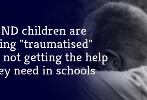 """SEND children are being """"traumatised"""" by not getting the help they need in schools"""